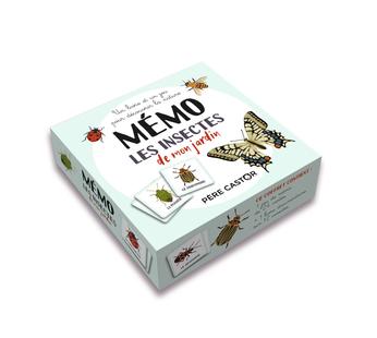 Boîte de jeu Mémo - Les insectes de mon jardin
