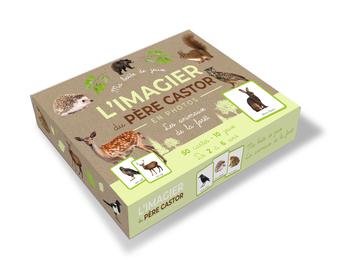 L'Imagier photos du Père Castor - Ma boîte de jeux - les animaux de la forêt