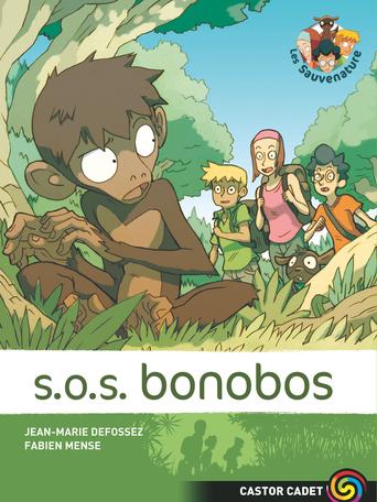 Les sauvenature Tome 5 - SOS bonobos 2