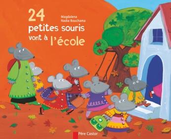 Vingt quatre petites souris vont à l'école