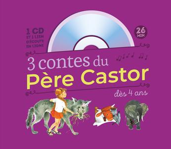 3 contes du Père Castor : Marlaguette – La Vache orange – Une histoire de singe