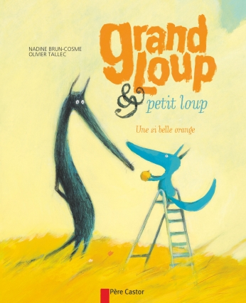 Grand loup & petit loup, une si belle orange
