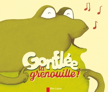 Gonflée la grenouille!