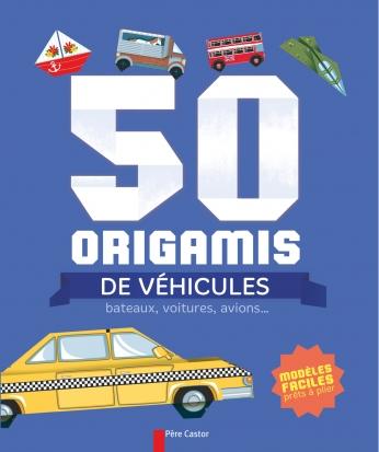 50 origamis de véhicules