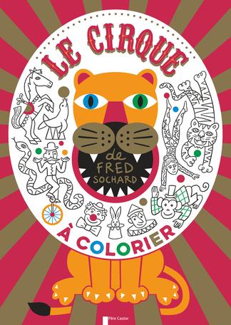 Le cirque à colorier
