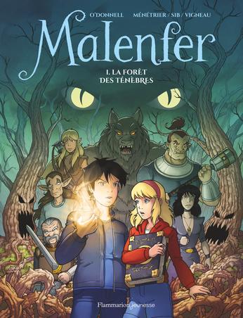 Malenfer BD Tome 1 - La forêt des ténèbres 2