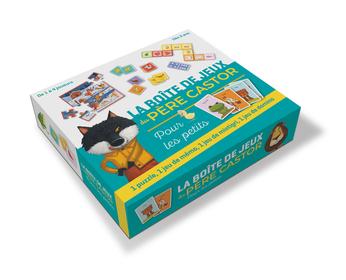 La boîte de jeux du Père Castor pour les petits