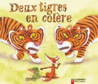 Deux tigres en colère